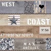 Toile Cirée au metre West Coast