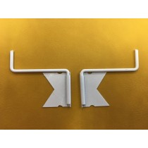 support de tringles pour fenetres PVC