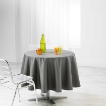 Nappe enduit ronde Liany anthracite